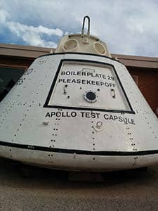 apollo, test capsule